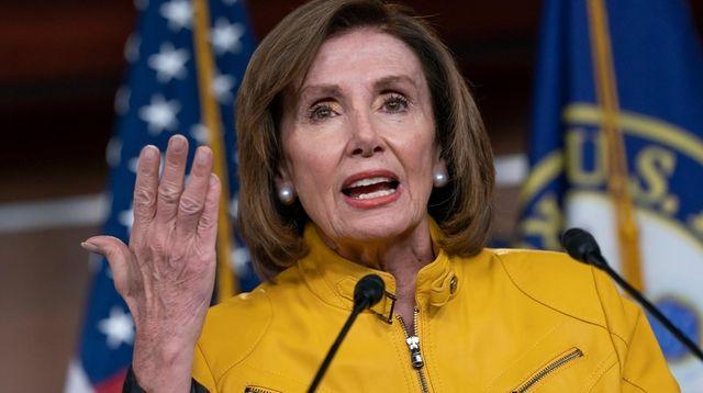 Speaker of the House Nancy Pelosi, D-Calif. on