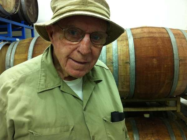 Barney Loughlin is the owner of Loughlin Vineyards.