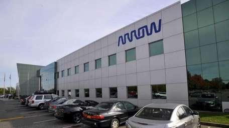 Arrow Electronics headquarters in Melville. The company announced