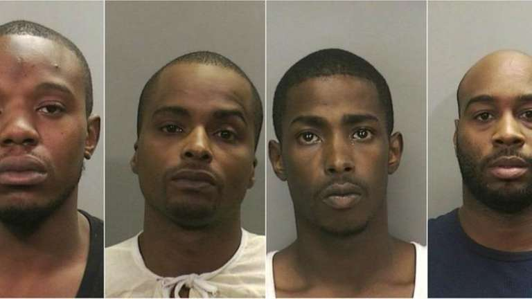These men were arrested and charged in connection
