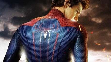 Poster image from the Spiderman movie rebook due