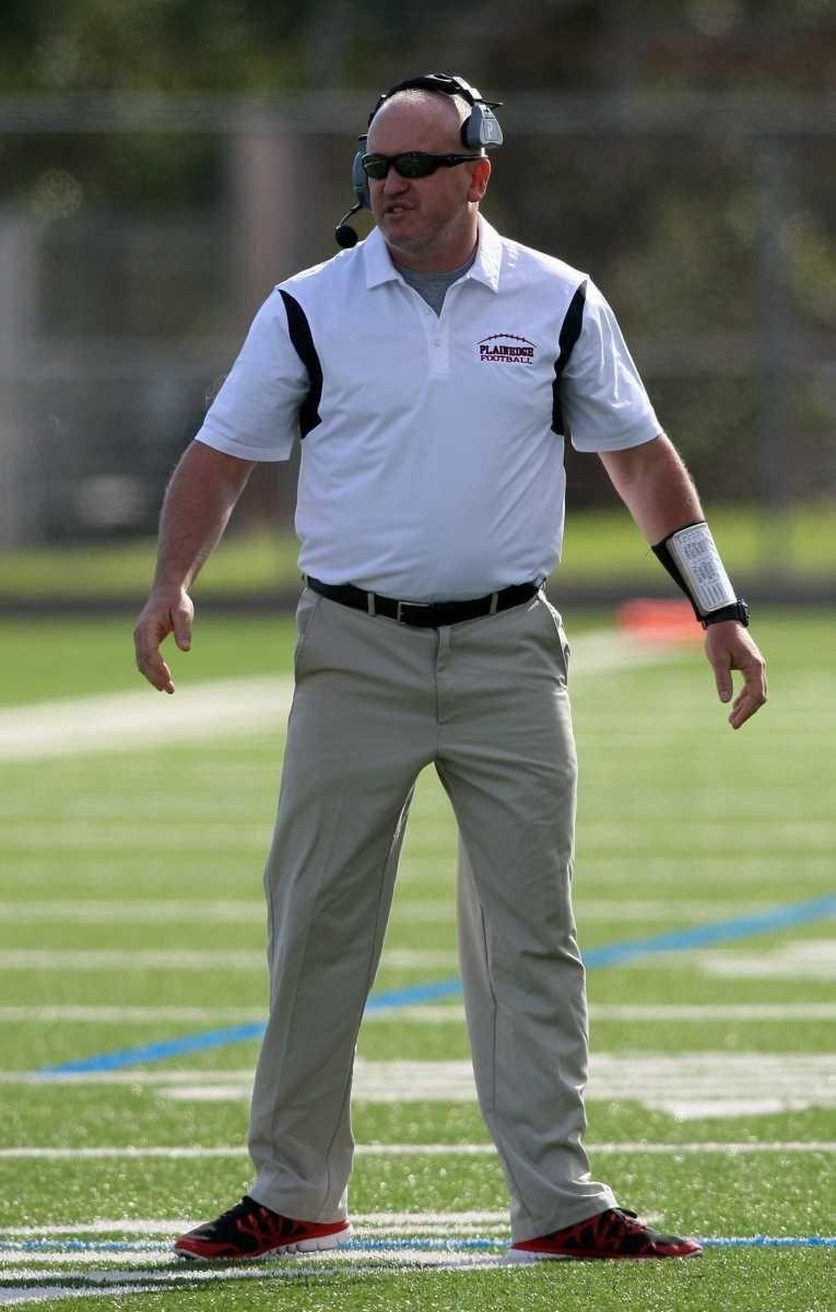 Plainedge High School football coach Rob Shaver on