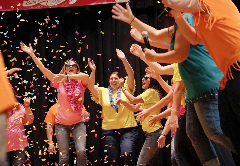Carolyn G. Atkinson intermediate school teachers dance in