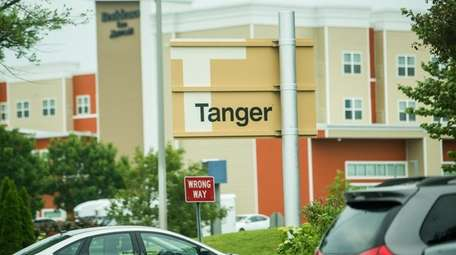 The Tanger Outlets in Riverhead where town officials
