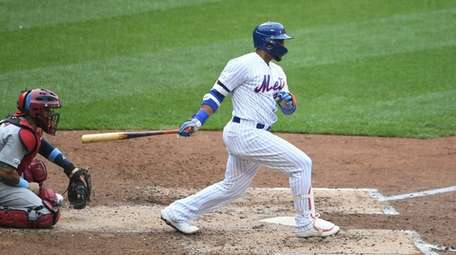Robinson Cano strokes a double his second time