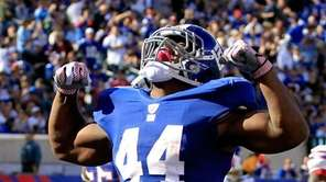 Ahmad Bradshaw #44 of the New York Giants