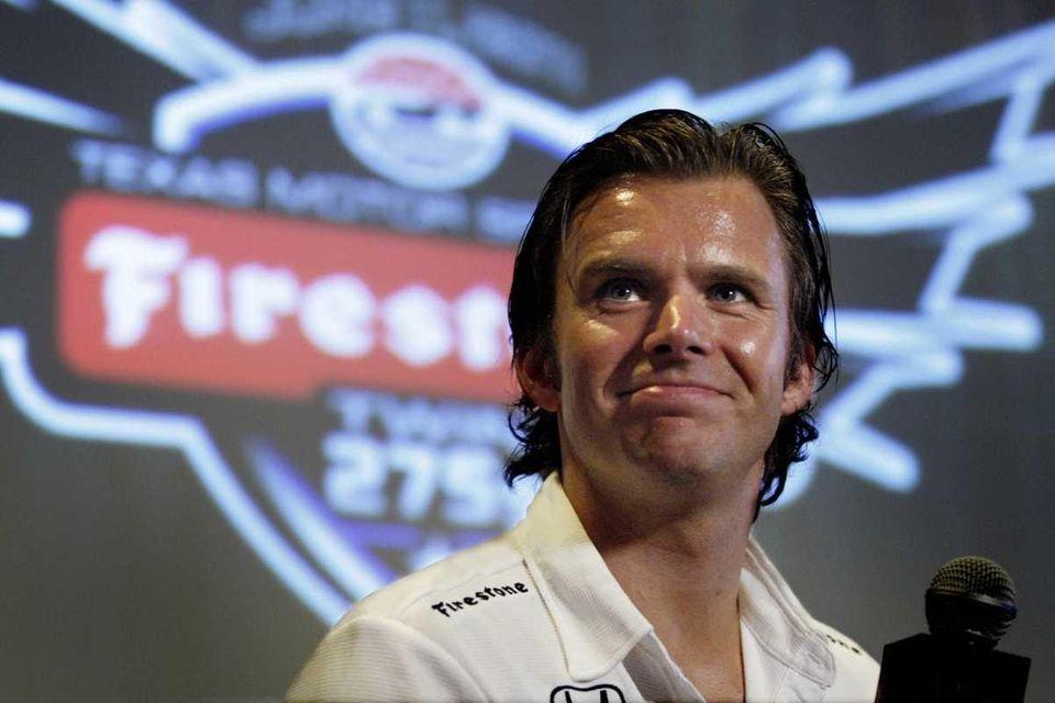 DAN WHELDON, IndyCar Driver Dan Wheldon, who moved