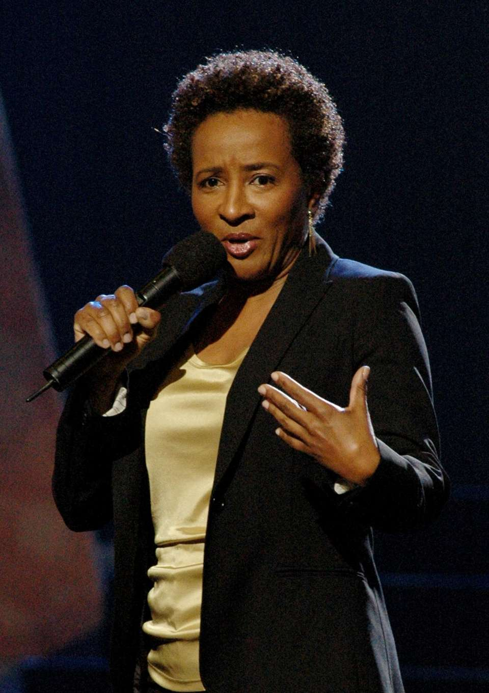 Comedian Wanda Sykes announced on