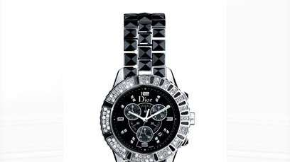 Dior Christal watch, up for bid as part