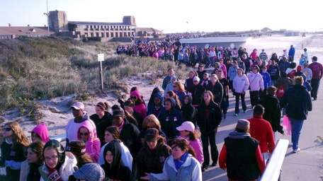 Thousands of people participates in the Making Strides