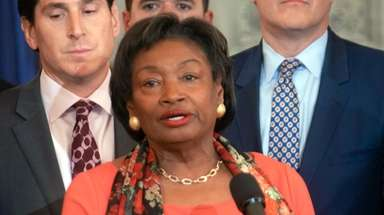 State Senate Majority Leader Andrea Stewart-Cousins (D-Yonkers) allowed