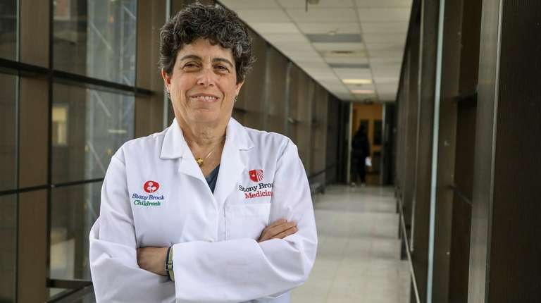 Dr. Sharon Nachman, chief of pediatric infectious diseases