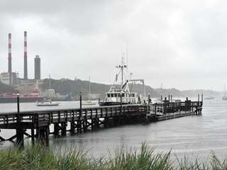 Vessels docked in Port Jefferson Harbor. (Sept. 6,