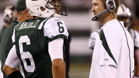 =Mark Sanchez #6 of the New York Jets