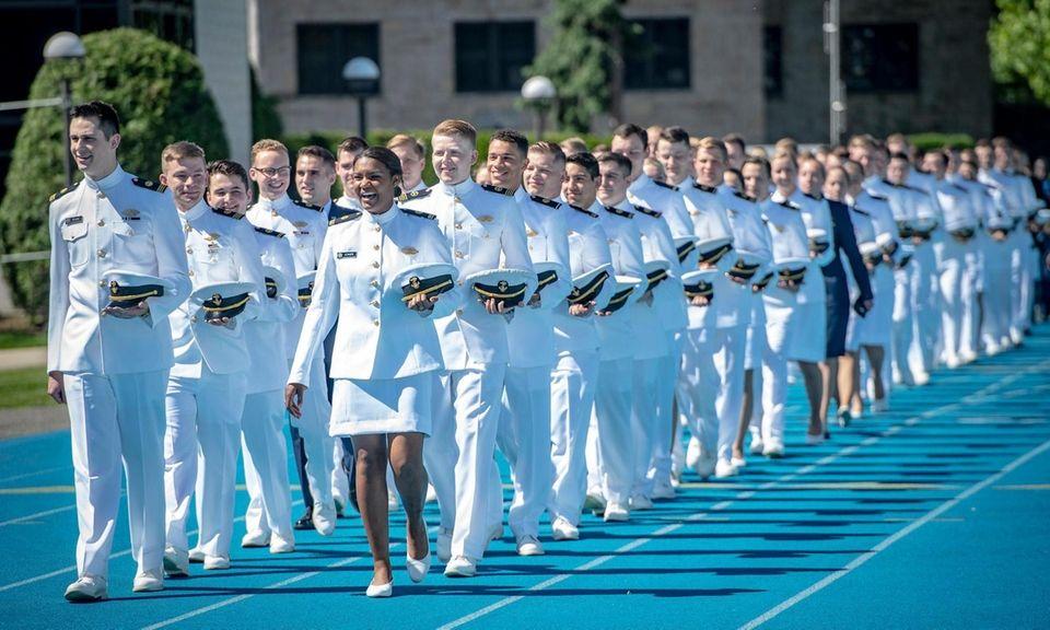 Valedictorian Midshipman Benjamin Starr and Logistics and Intermodal