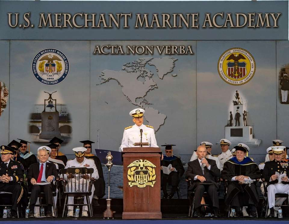 Remarks by the Superintendent Rear Admiral Jack Buono