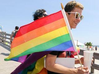 David Abreu of Westbury, 16, walks onto the