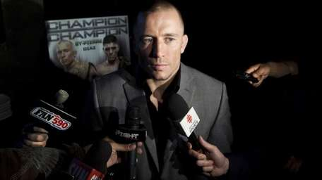 In this Tuesday, Sept. 6, 2011 photo, UFC