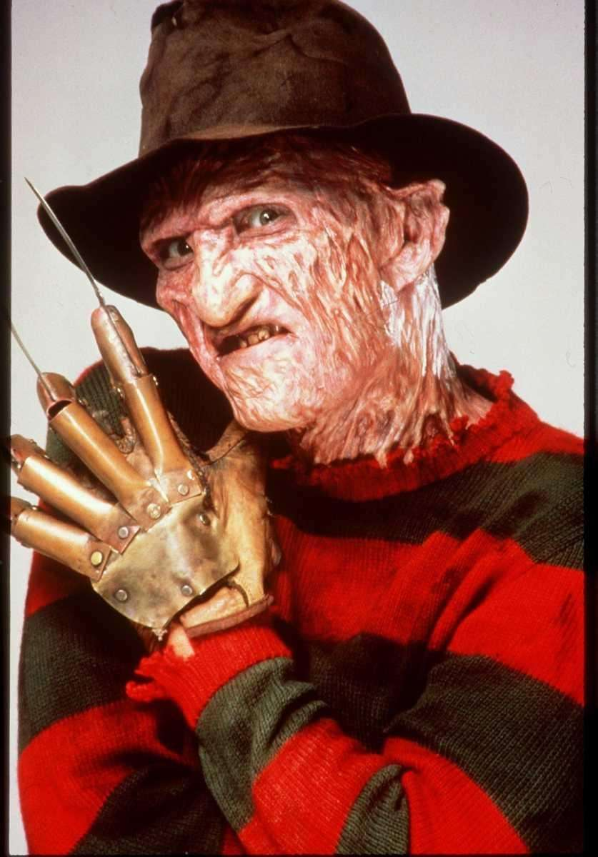 Freddy Krueger from Wes Craven's 1984 slasher film