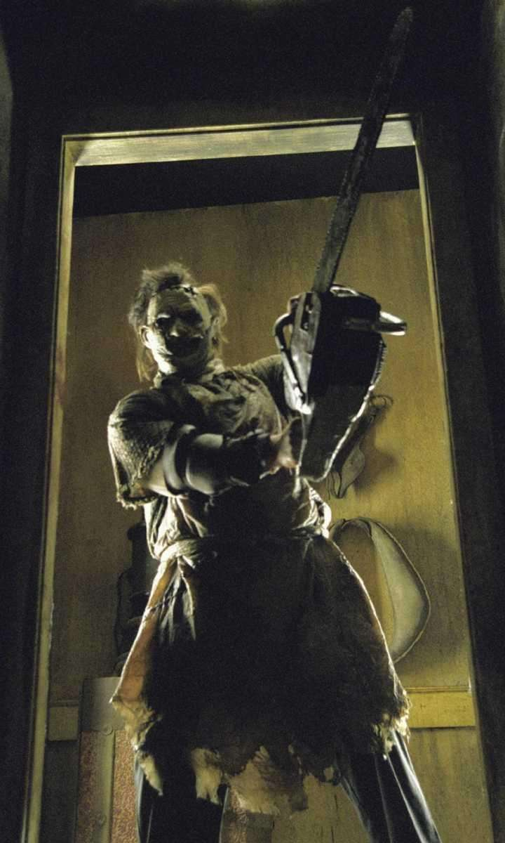 A deformed, chainsaw-wielding killer stalks and hunts a