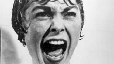 Actress Janet Leigh as Marion Crane in the