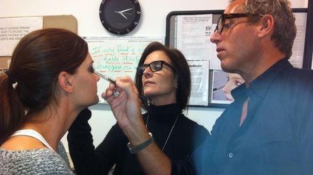 Giorgio Armani celebrity face designers Tim Quinn and