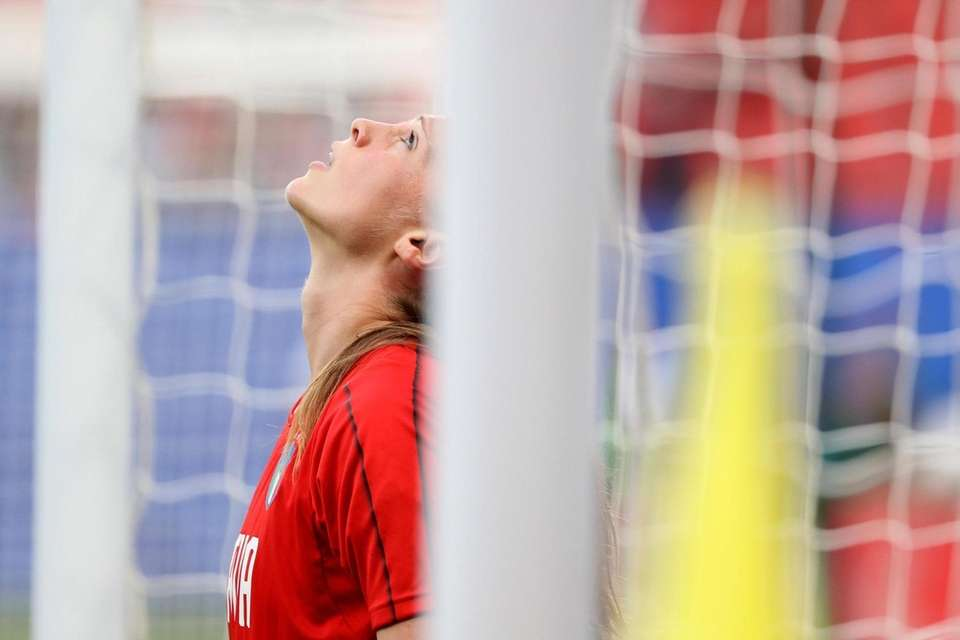 Laura Giuliani of Italy looks on before a