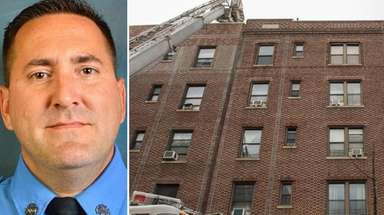 FDNY firefighter William Tolley of Bethpage, who died