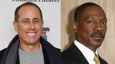 Jerry Seinfeld and Eddie Murphy are set to
