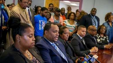 Hempstead school board members denounce proposed legislation that