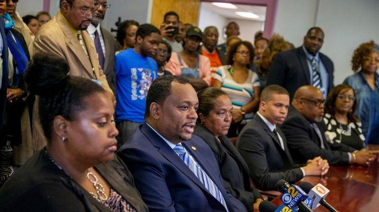 Hempstead school board members denounce proposed legislation that