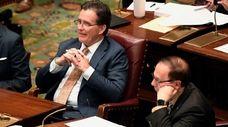 State Senate Minority Leader John Flanagan (R-East Northport)