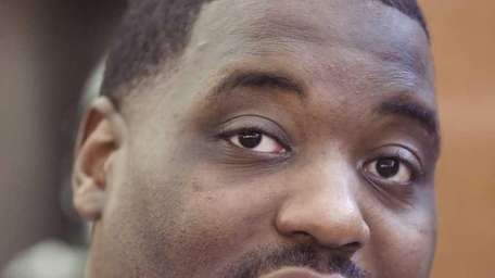 Former New York Jet offensive tackle Damien Woody.