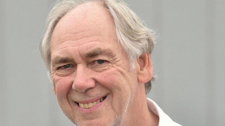 Francis Bock, East Hampton Town trustee clerk, has