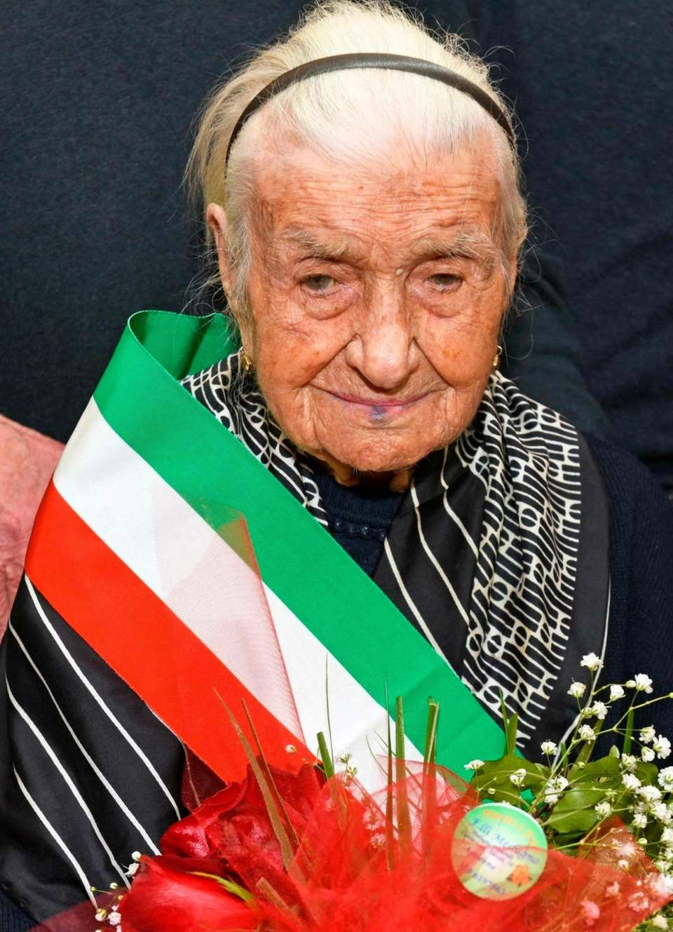 Giuseppina Robucci, a 116-year-old Italian woman who authorities