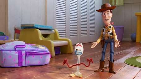 "In ""Toy Story 4,"" Woody becomes the protector"