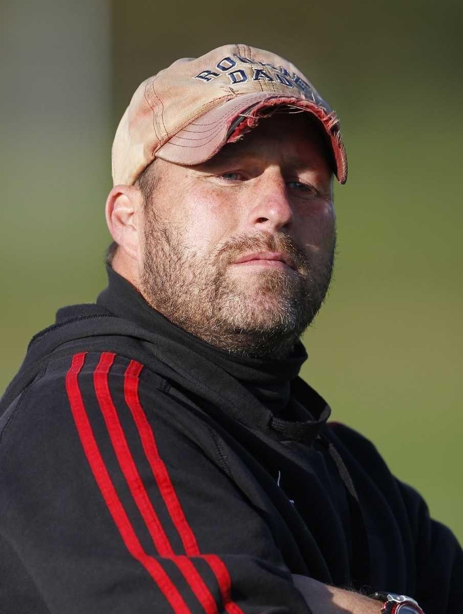 Islip girls varsity soccer head coach Mike Reilly.