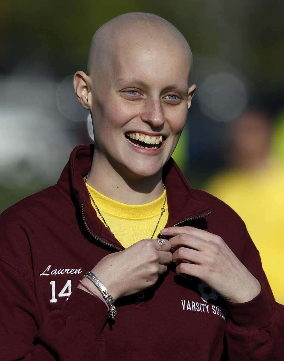 Kings Park varsity soccer player Lauren Lenardo, 15,
