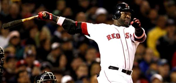 Undated file photo of David Ortiz.