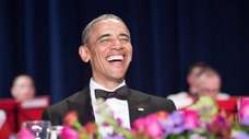Then- President Barack Obama attends the 102nd White