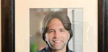Portrait of Keith Raniere that hung in the