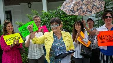 Diane Madden on Wednesday announces her run for