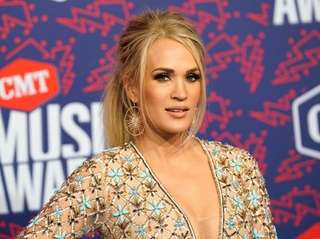 Carrie Underwood attends the CMT Music Awards on