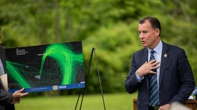 Rep. Thomas Suozzi on Monday announced steps to