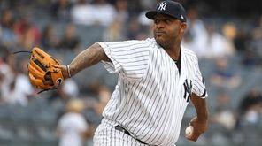 Yankees starting pitcher CC Sabathia against the Tampa
