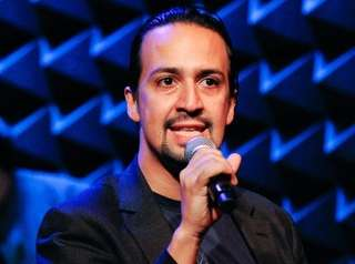 Lin-Manuel Miranda shows off his improv skills as