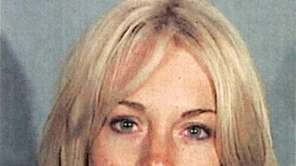 Lindsay Lohan, in this police-issued mug shot, was