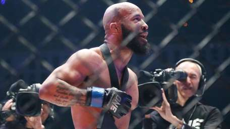 Mixed martial arts fighter Demetrious Johnson of the