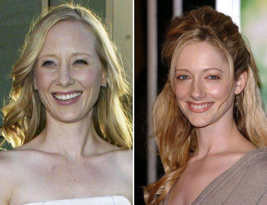 Anne Heche, left, and Judy Greer.