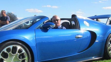 John Hill, sales director for Bugatti Automobiles of